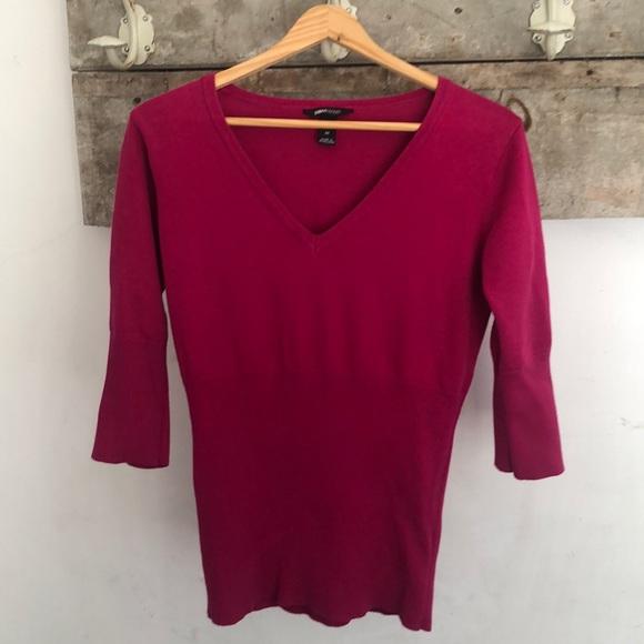 Maternity | Ribbed Vneck sweater